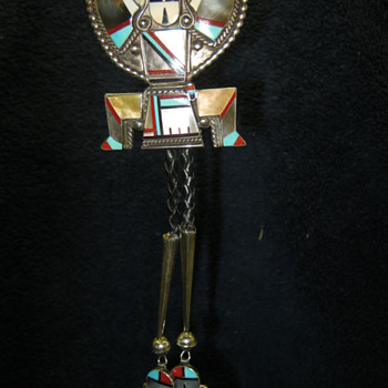 Zuni Knifewing Bolo - Native American