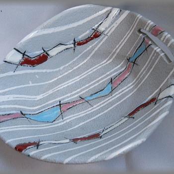 Mid Modern Italian Bowl -- Italy # 6838 - Pottery