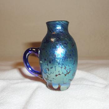 Miniature Loetz Vase - Art Nouveau