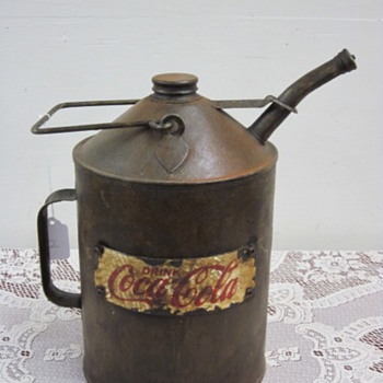 Old coke syrup cans? - Coca-Cola