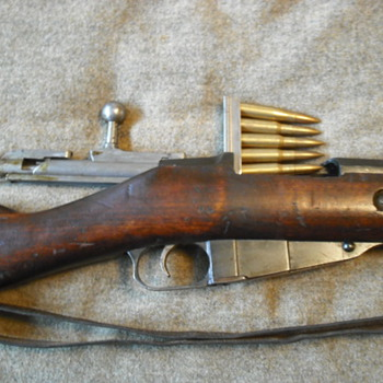 Russian/Finnish 1891 Mosin-Nagant Rifle
