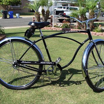 Kevins Unrestored 71 Schwinn Heavy Duty - Outdoor Sports