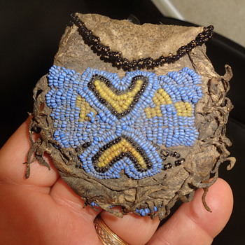 Beaded Small Pouch - Native American