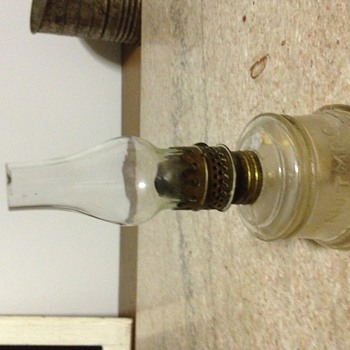 Nutmeg miniature oil lamp - Lamps