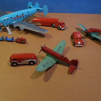 Art Deco Airport Toys