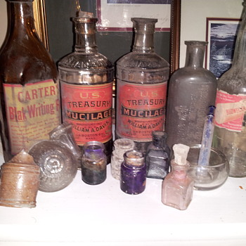 U.S. Treasury and Mint Master Bottles