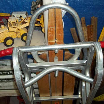 1950's ALUMINUM SLED - Outdoor Sports