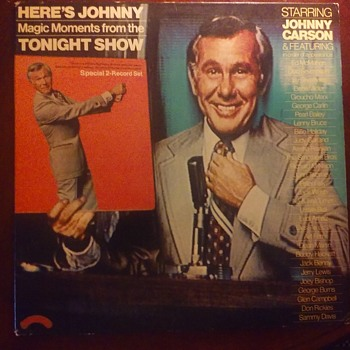 """HERES JOHNNY.......""!! - Records"