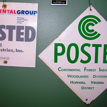 Tree Signs, pt3: Continental Can Co. - Signs