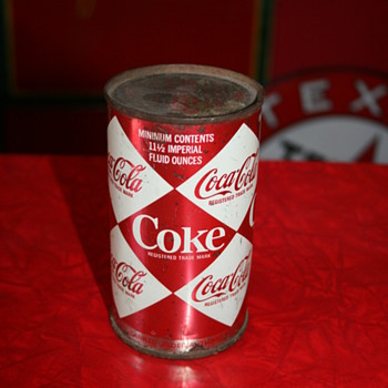 coca cola harlequin can