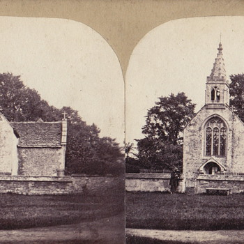 Chalfield Church - Wiltshire - Photographs