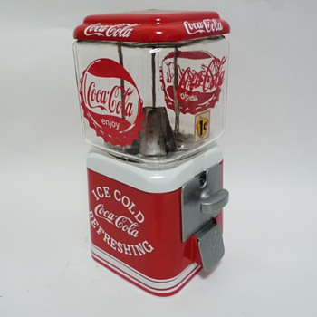 Vintage Coca cola candy gum ball machine
