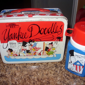 1976 yankee doodles lunch box - Kitchen