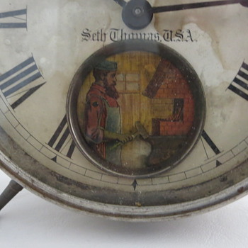 1880's Seth Thomas Alarm Clock - Clocks