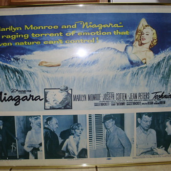Marilyn Monroe Rare Niagara Movie Poster - Posters and Prints