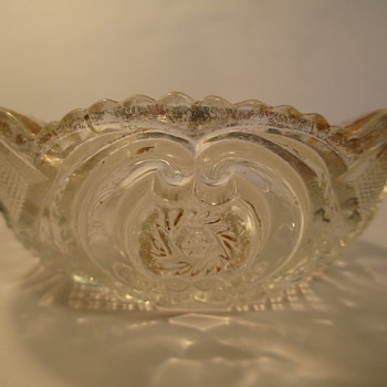 "U.S. Glass 15104 'Victoria' c1907; aka ""Buzz Saw"". - Glassware"
