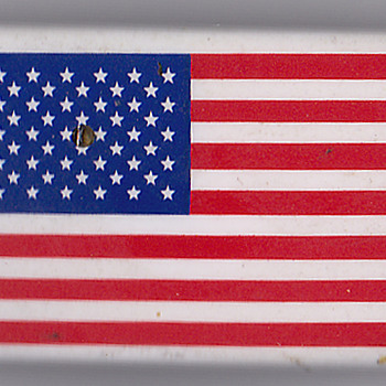 US Flag pin from China