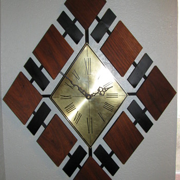 Danish Modern Welby Wall Clock - Mid Century Modern