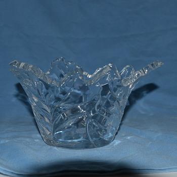 leaf bowl - Glassware