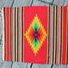 "Native American small fringed ""rug"" appx. 17 inch by 20 inch."