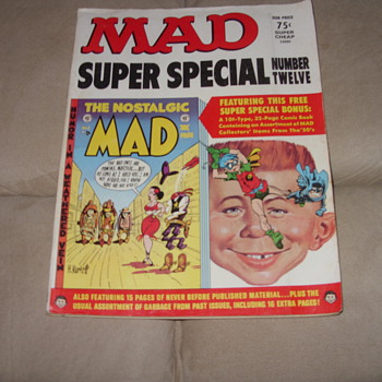 1973 mad super special no 12 - Paper