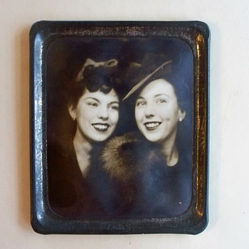 Photomatic Photo -  Two Lovely Ladies from 1930's