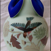 Roccoco Art Glass Vase 1