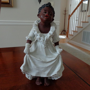 Antique Black Americana Figurine - Figurines