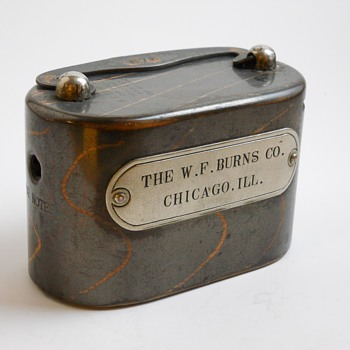"Company Salesman Steel Bank ""W.F.Burns,Chicago,Illinois, Circa 1910   - Coin Operated"