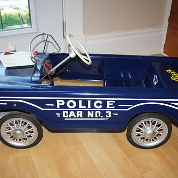 police pedal car - Toys