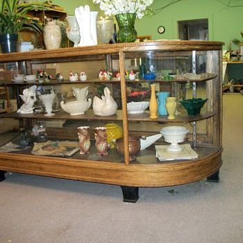 Oak Display Cases - Furniture