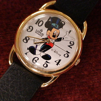 1991 Lorus Hollywood Mickey - Wristwatches