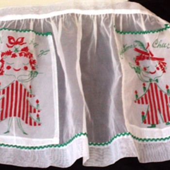 Kitschy Holiday Hostess Apron
