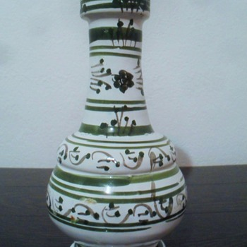 Turkish or Moroccan Pottery Vase? - Art Pottery