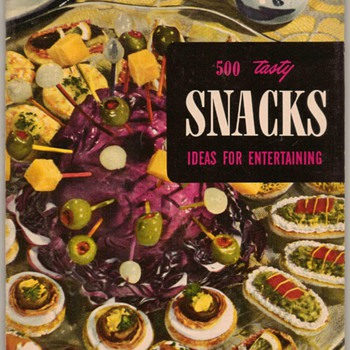 1953 - 500 Snacks - Ideas for Entertaining - Books