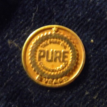 Pure Oil Company - 5 Year Pin - Advertising