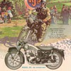 1954  A.J.S. Motorcycle Advertisement