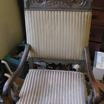 Pair of Hall Chairs - Furniture
