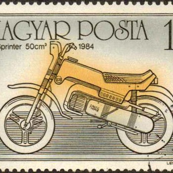 "Hungary - ""Motorcycles"" Postage Stamps - Stamps"