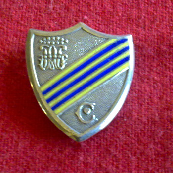 HALLMARKED ENGLISH BADGE