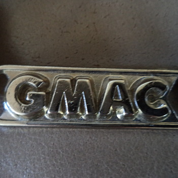 Vintage GMAC General Motors Drop Any Mailbox