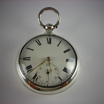 "English ""Lever"" Fusee Pocket Watch Made 1824"