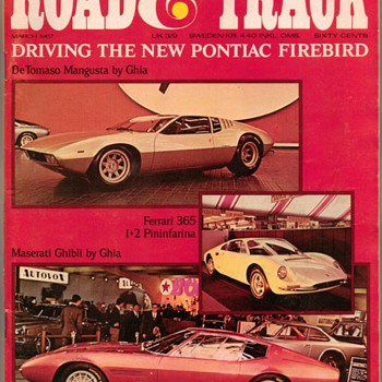 1967 - Road & Track Magazine (Muscle Car Road Tests) - Paper