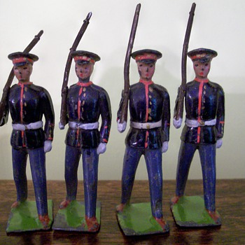 Metal Toy Soldiers