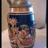 German Bier Stein Pewter mug