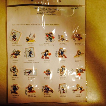prototype 1996 Atlanta Olympics Izzy Pins - Medals Pins and Badges