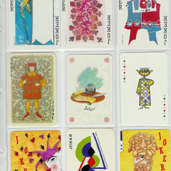 Modern Art Jokers - Cards