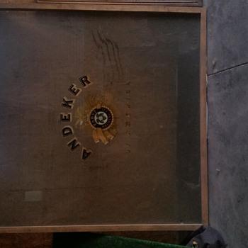 Andeker of America Framed Window - Breweriana