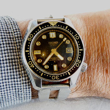 SCORE - A 1969 Seiko Professional Divers Watch 6159-7001