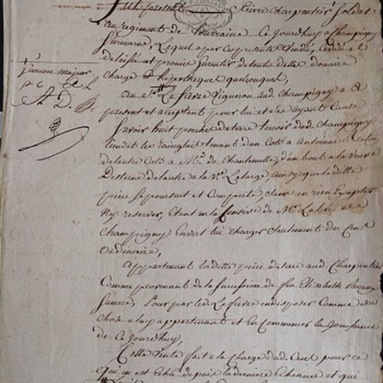 May 3, 1788 Document in French - Is it French Revolution or Revolutionary War?